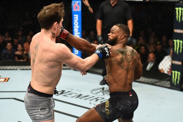 UFC Champion Tyron Woodley Describes Recent Hand Injury - Woodley