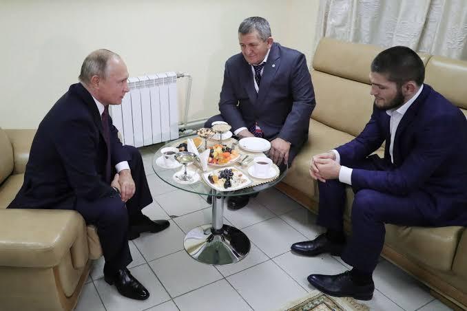 Putin met with Khabib