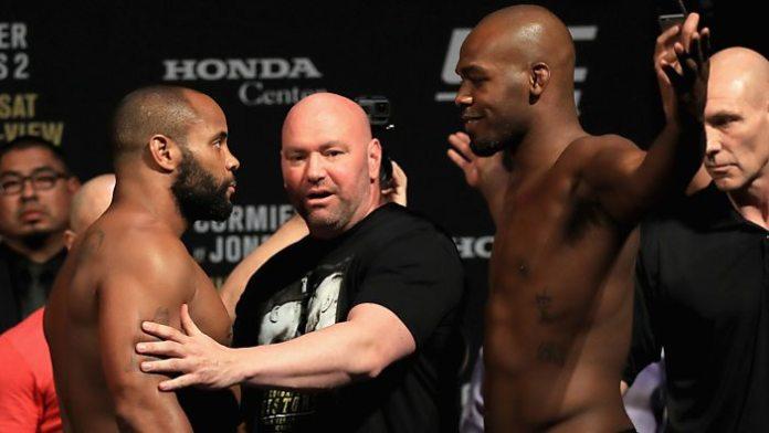 UFC: Jon Jones on Daniel Cormier losing LHW strap: 'Daddy's home now' - ufc