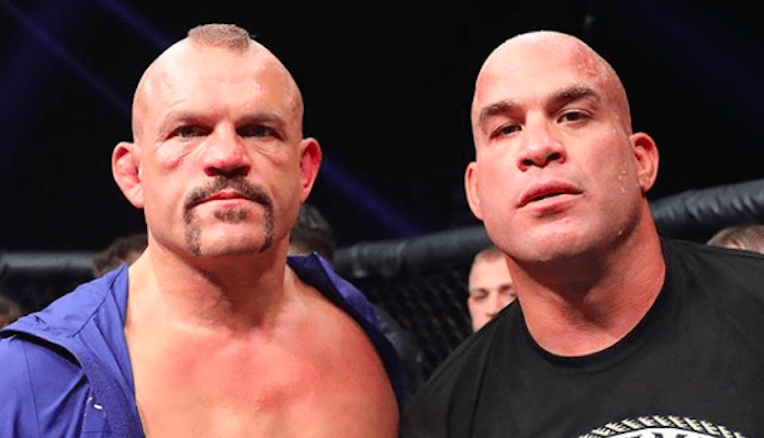 Tito Ortiz says if he was Liddell's manager he would have told him to retire - Ortiz
