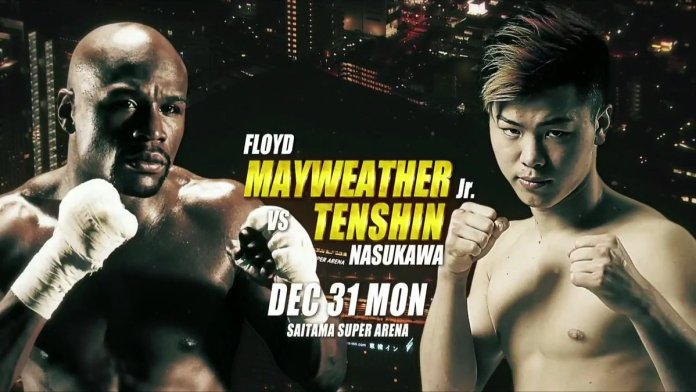 Twitter reacts to Floyd's ridiculous fight announcement in Japan - Floyd