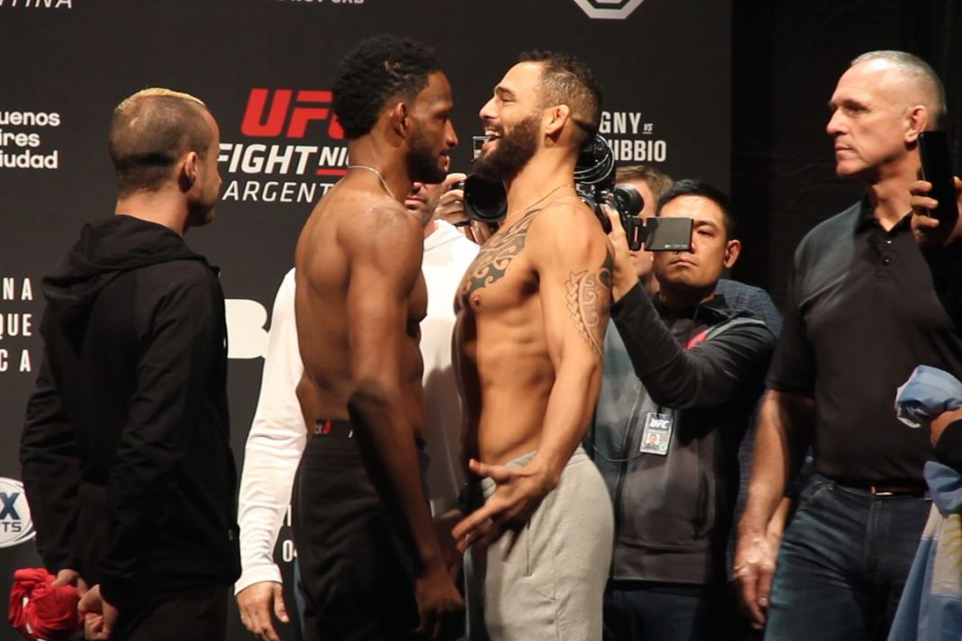 UFC Fight Night 140: Magny vs Ponzinibbio - Play by Play Updates & Live Results - ufc