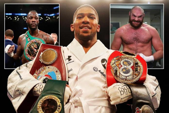Lennox Lewis says Anthony Joshua doesn't want to fight Deontay Wilder or Tyson Fury - Wilder