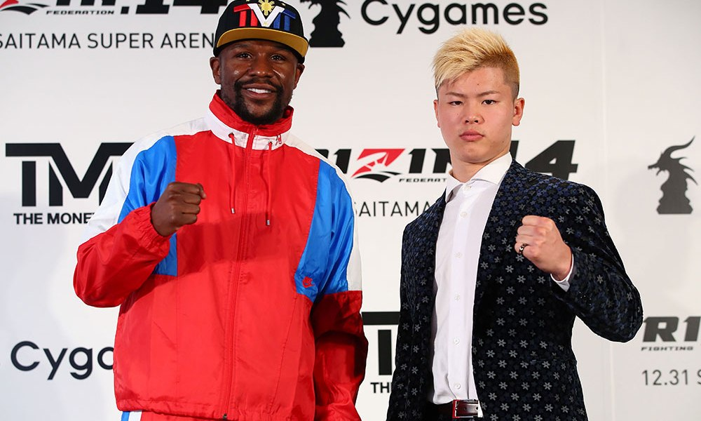 Rules for Floyd vs Tenshin revealed...and there are no judges! - Mayweather