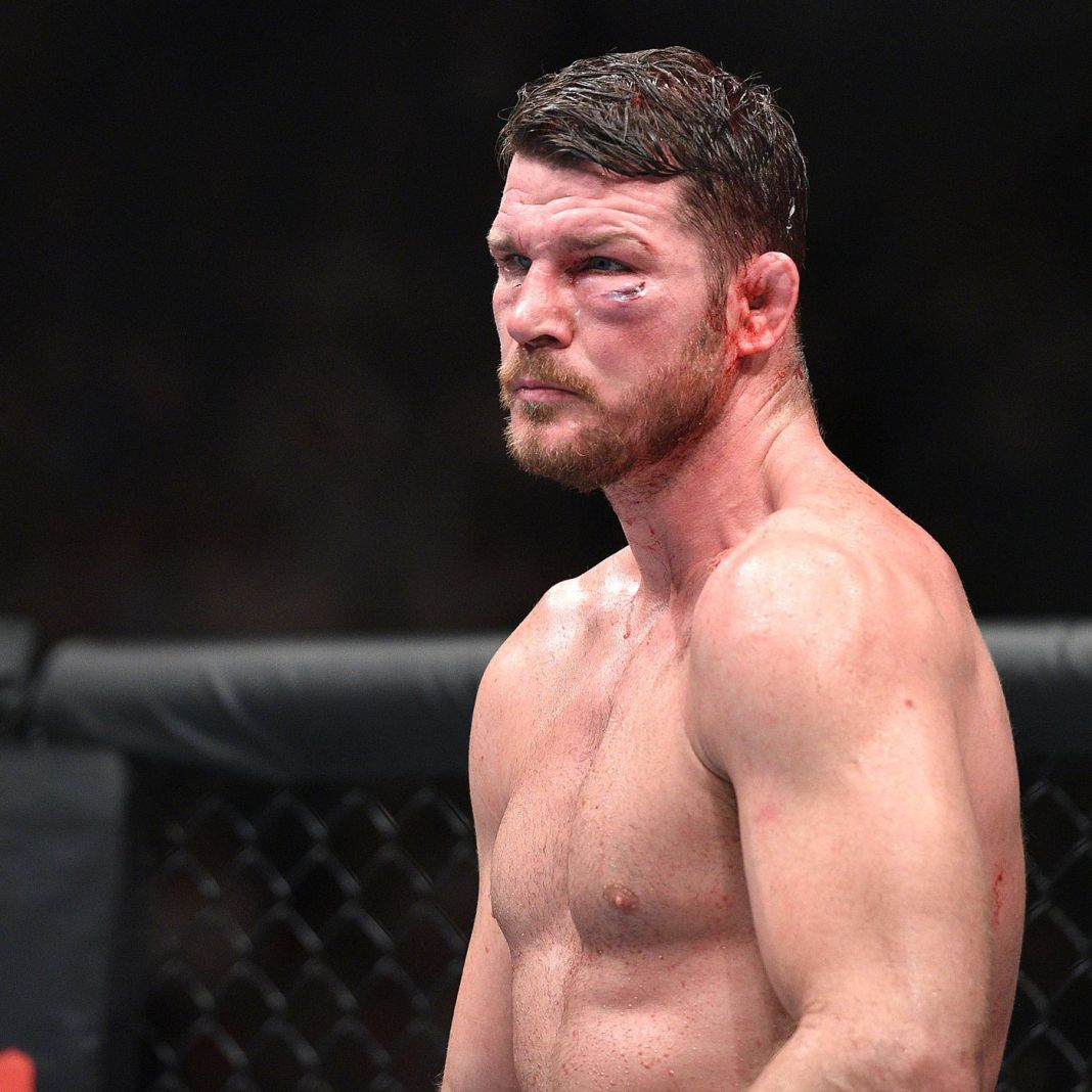Michael Bisping reveals that he fought a lot of his career 'clinically blind' -