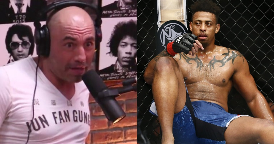 Joe Rogan calls Greg Hardy's UFC debut a joke, wants him to be fed to Francis Ngannou - Greg