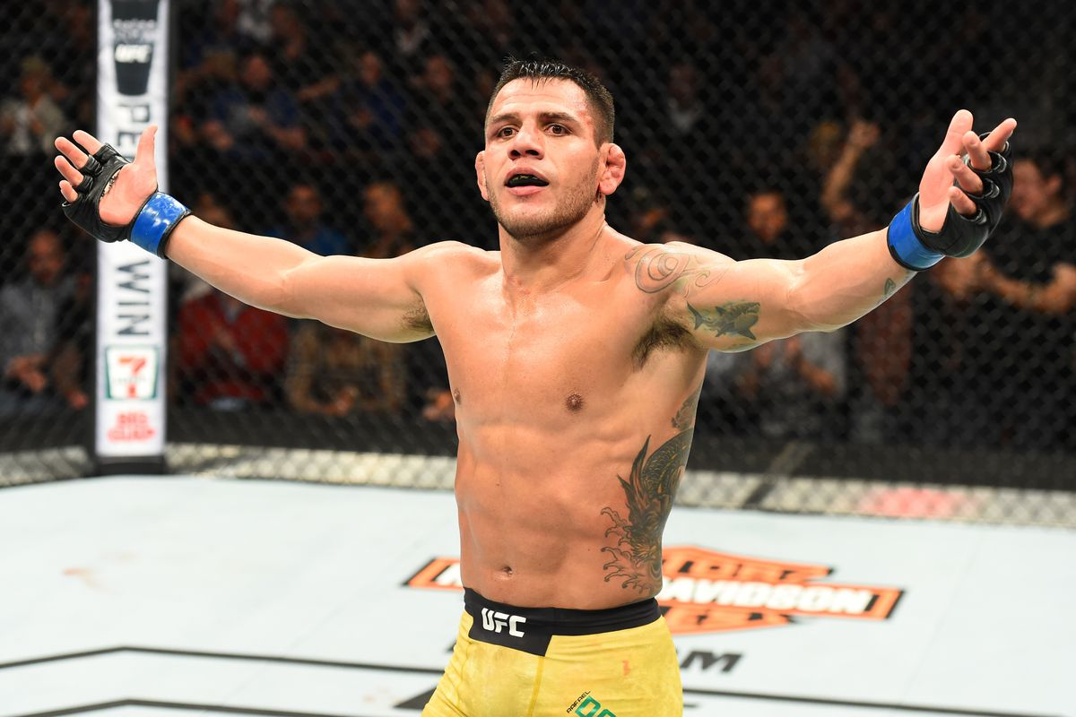 Rafael dos Anjos has a strong message for all the weight cut keyboard warriors out there - Rafael dos Anjos