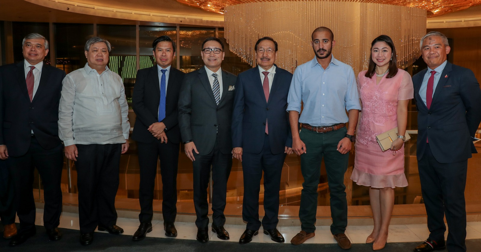 Top Philippines' officials greet Sheikh Khalid ahead of Brave 22 -