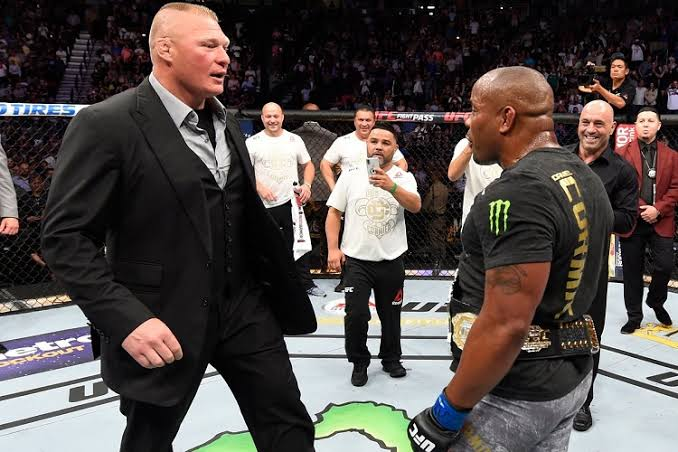 UFC: Daniel Cormier threatens to go to WrestleMania 35 to cost Brock Lesnar his title so that he can come to the UFC quickly - Cormier