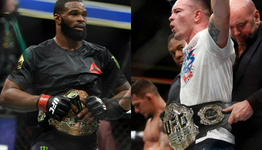 """Colby Covington: """"Broken man"""" Tyron Woodley's career is over after UFC 235 -"""