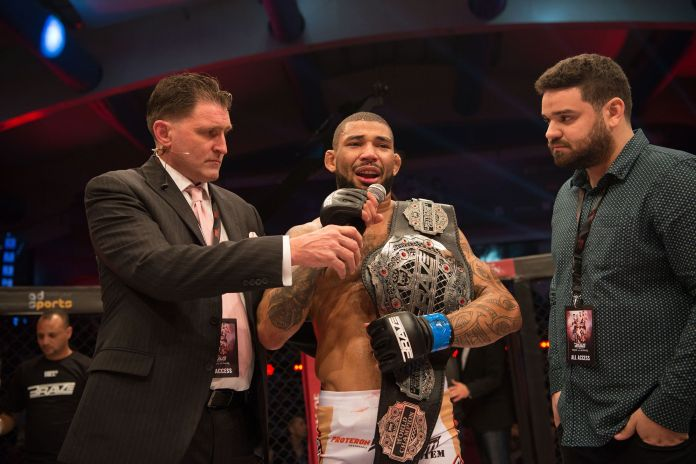 "New world champion Luan Santiago fulfills ""four-minute KO"" promise at Brave 23 -"