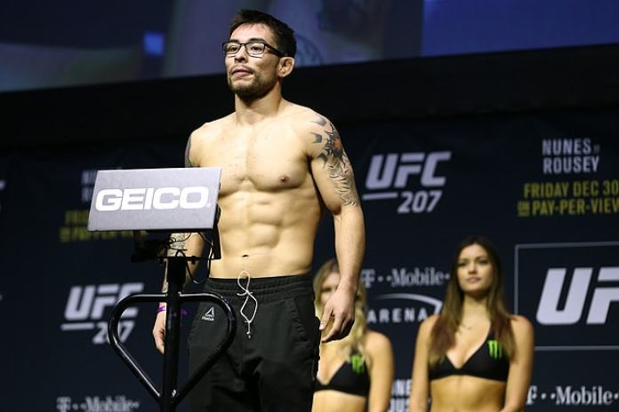 UFC Flyweight Ray Borg vows to leave MMA if he misses weight again - Ray
