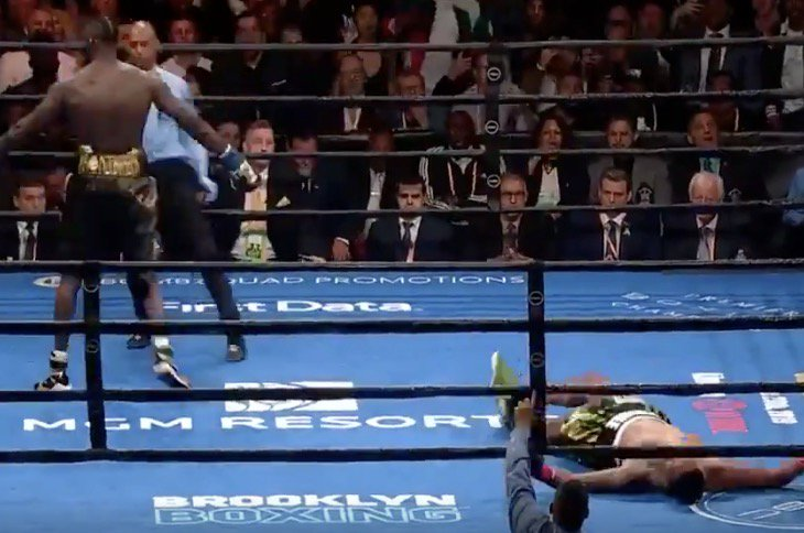 Twitter reacts to Deontay Wilder's brutal KNOCKOUT victory over Dominic Breazeale - Wilder