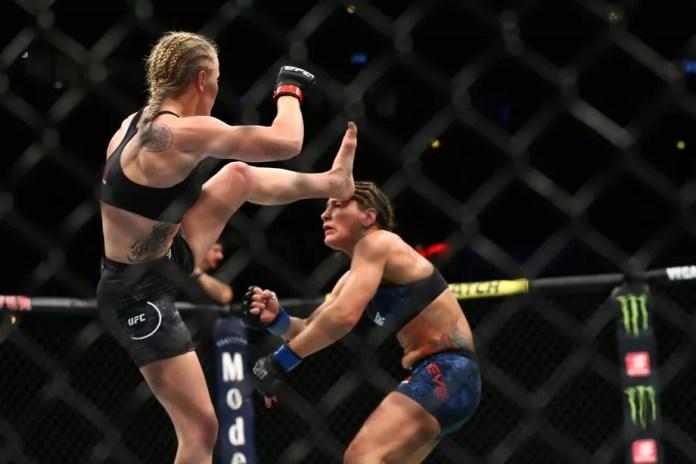 Jessica Eye addresses her brutal headkick loss to Valentina Shevchenko - Jessica