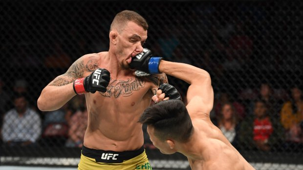 Twitter reacts to Korean Zombie's first round TKO victory over Renato Moicano - Korean