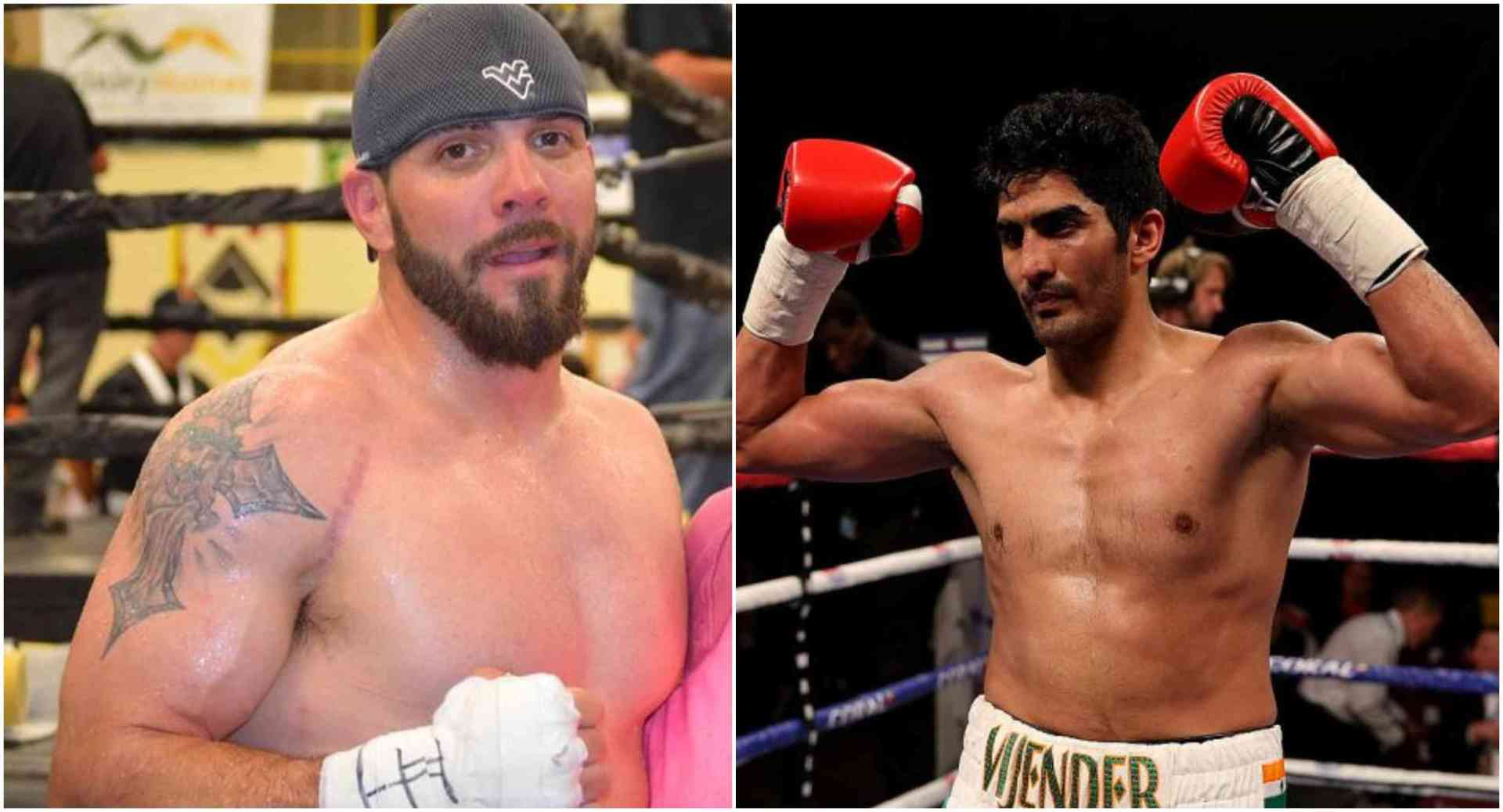 Vijender Singh to face Mike Snider on July 13 in New Jersey for his US debut - Vijender