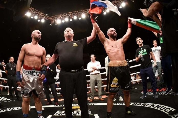Journalist Mike Russell challenges Ali Abdelaziz to a BKFC fight against Artem Lobov - Artem