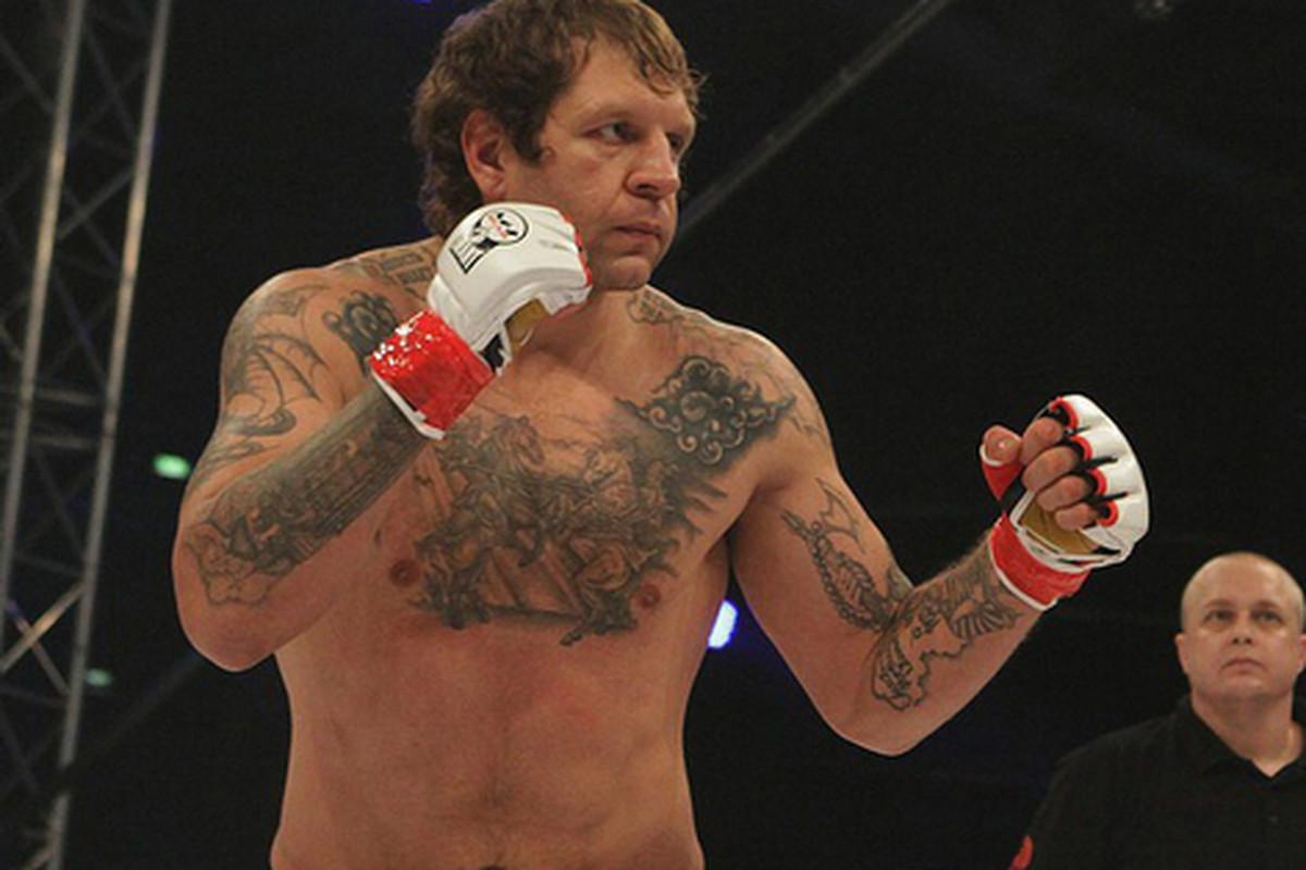 Fedor Emelianenko's brother to receive a contract from Bare Knuckle Fighting Championships - Alexander Emelianenko