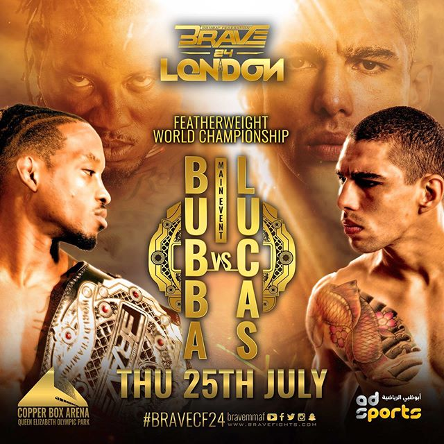 Aaron Chalmers, Paul Daley, and Brad Pickett to witness BRAVE 24: London -