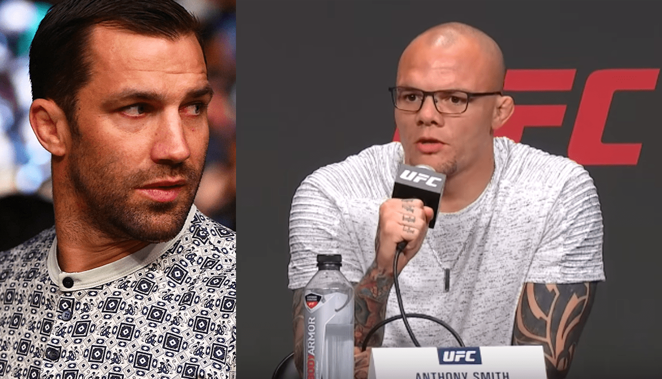 Anthony Smith rubs it in for Luke Rockhold after his KO loss at UFC 239 - Anthony