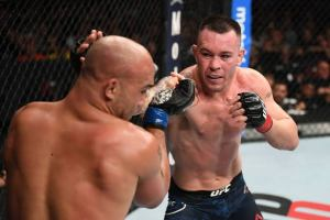 Photos: The cut Colby Covington hid from the commission before the fight - Covington