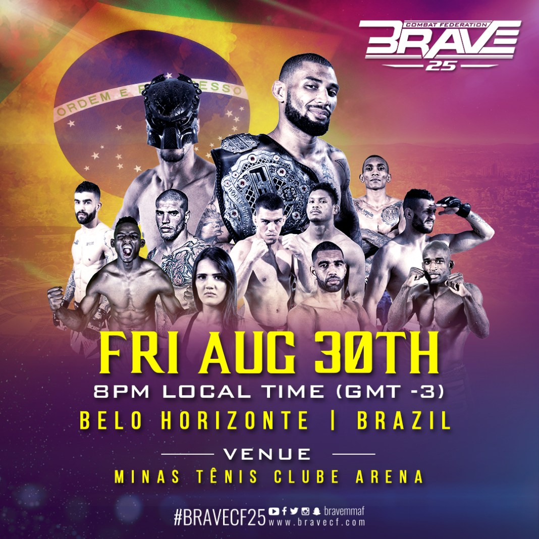 After historic London debut, BRAVE CF announces return to Brazil -