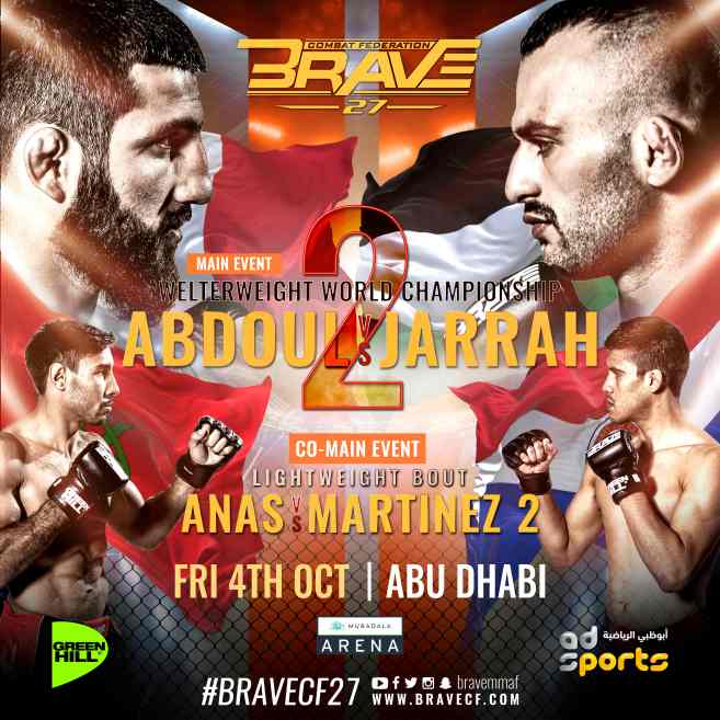 Al-Selawe back to his roots for BRAVE CF 27, warns Abdoul: 'Going for the KO' - BraveCF