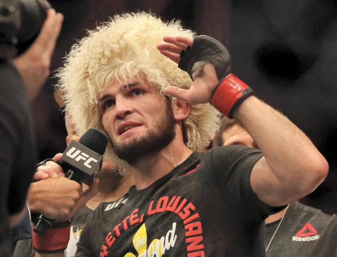 Watch: Khabib proposes $30 million money fight against GSP for charity in Africa - Khabib