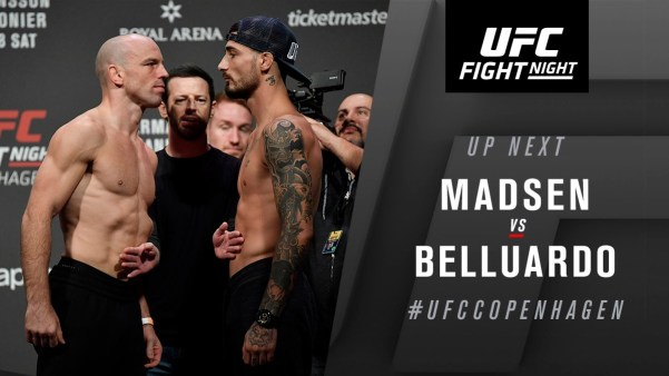 UFC Fight Night 160 Results - Olympian Mark Madsen Needed Just 72 secs to Finish Danilo Belluardo via TKO -
