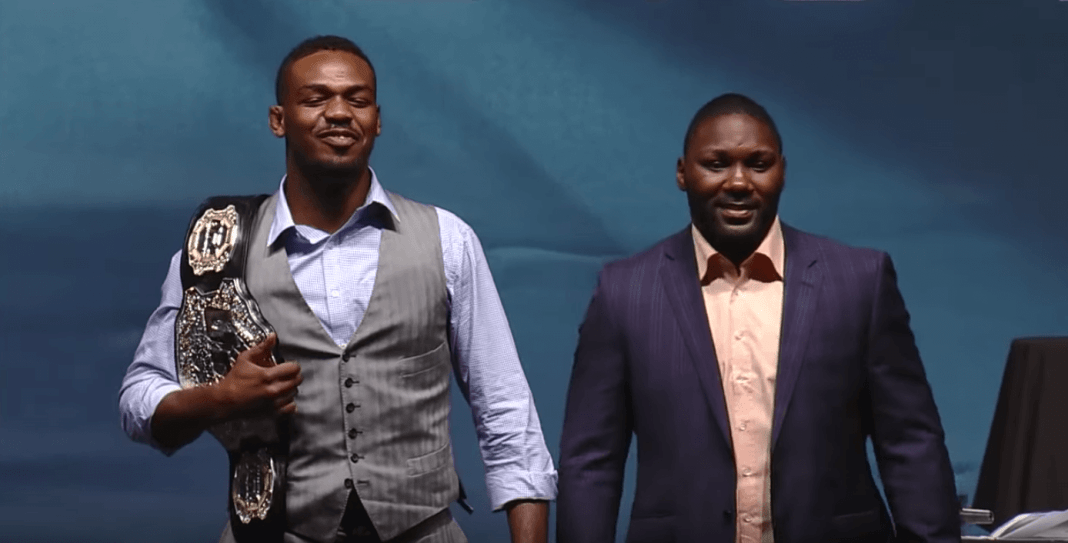 Jon Jones to Anthony 'Rumble' Johnson: I'll be more than happy to choke you out! - Jones
