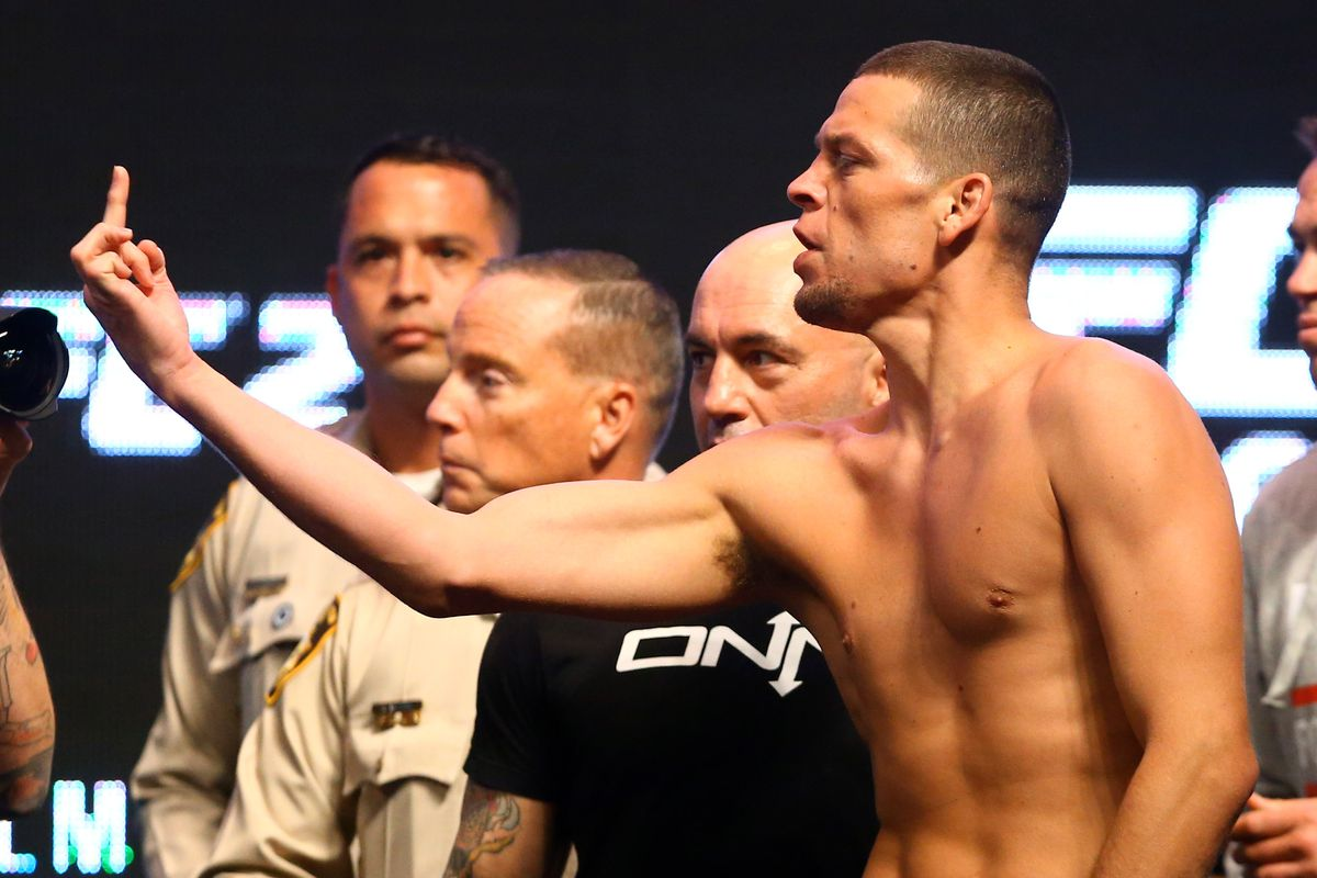 Nate Diaz sends cryptic tweets abusing 'group of pu***s' - Nate