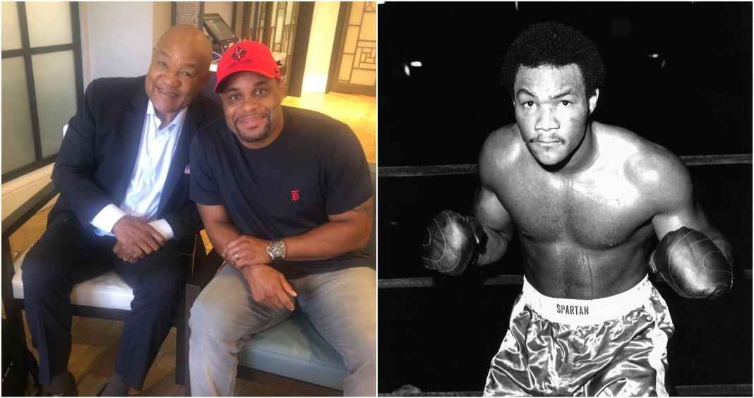 Daniel Cormier enlisting the help of boxing great George Foreman ahead of Stipe Miocic trilogy fight - Cormier