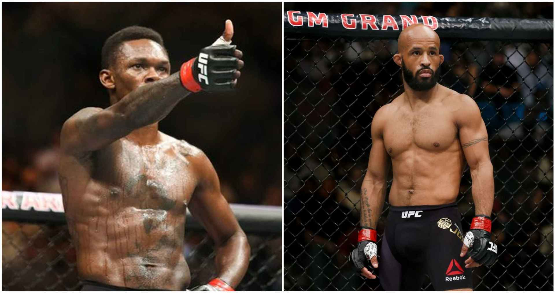 Israel Adesanya says Demetrious Johnson is the best fighter in the world right now - Israel