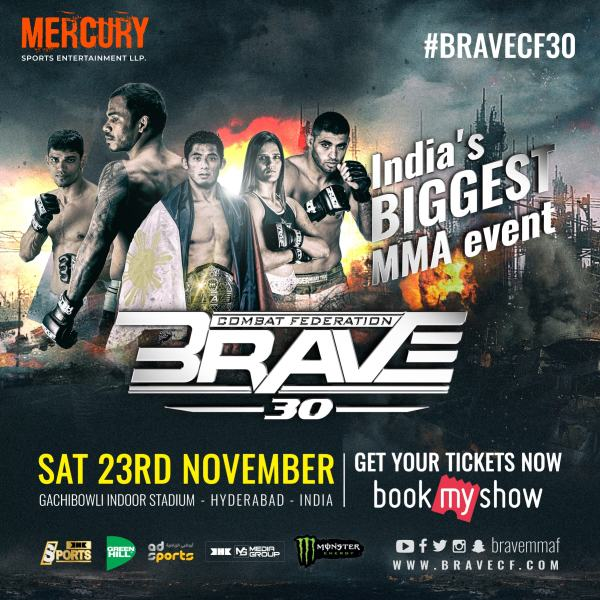 BRAVE CF's return to India confirmed with a blockbuster card to follow - BraveFC