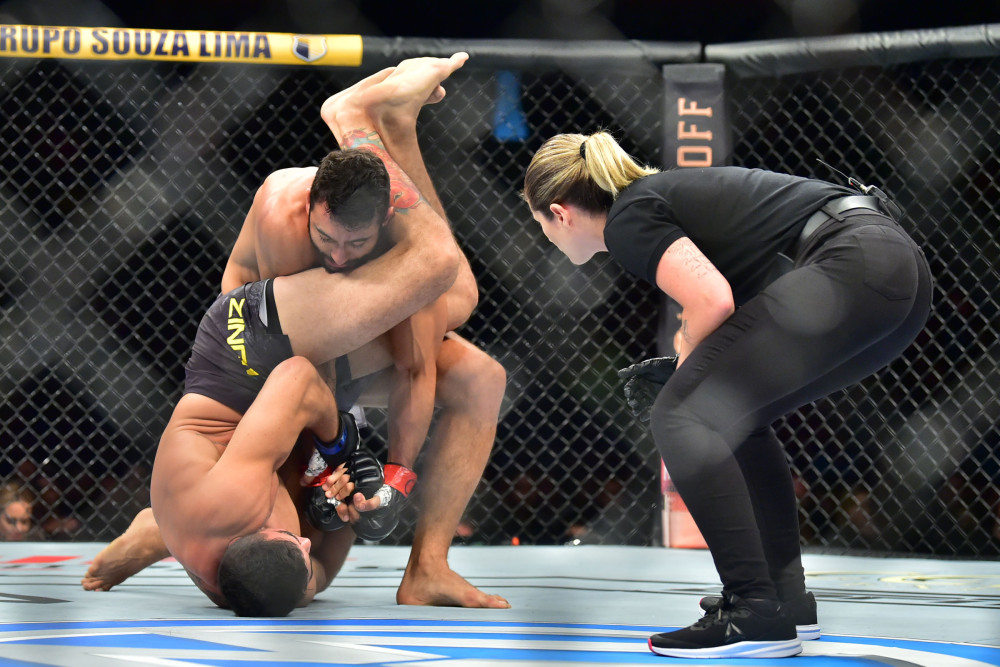 UFC Fight Night 164 Results - Andre Muniz Steers Past Antonio Arroyo to Get a Win in His UFC Debut -