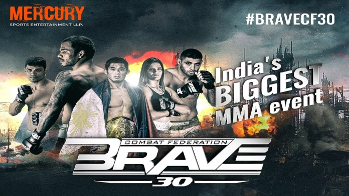 BRAVE returns to India on November 23 with Eight Indian fighters on the card - BRAVE