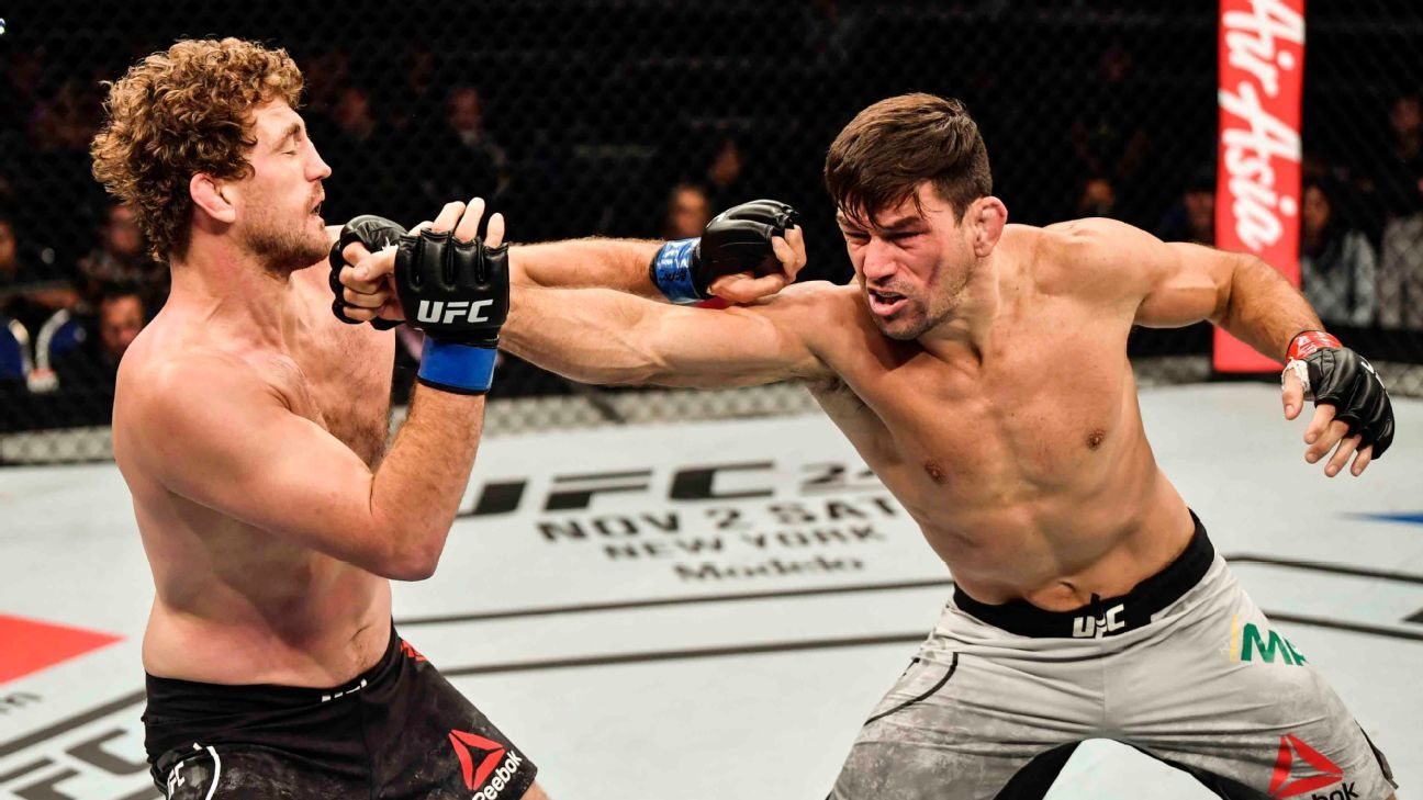 Demian Maia on Ben Askren's retirement plan: 'I think he should keep fighting' - Maia
