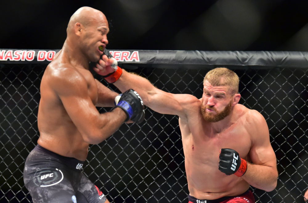 UFC Fight Night 164 Results - Jan Blachowicz Edges Ronaldo Souza in a Lackluster Main Event Performance -