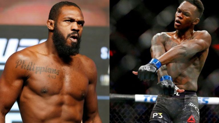 Israel Adesanya says he is willing to fight Jon Jones at 185lbs - Israel