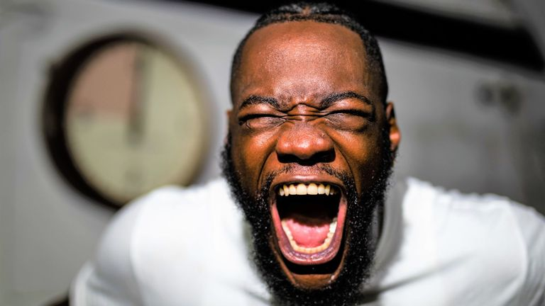 Deontay Wilder explains why he started slow in his fight against Luis Oritz - Wilder