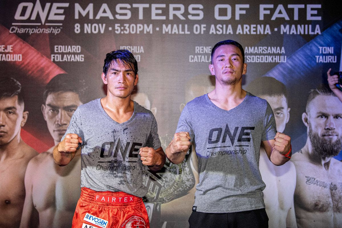 ONE: MASTERS OF FATE OFFICIAL OPEN WORKOUT PHOTOS AND ATHLETE QUOTES - ONE