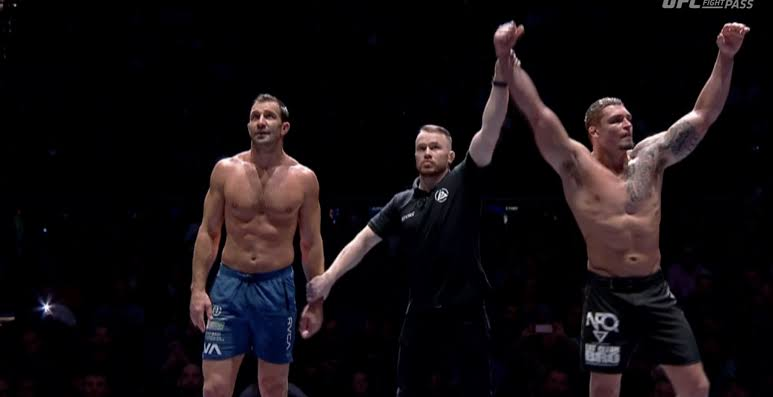 Polaris: Luke Rockhold loses to Nick Rodriguez in Polaris grappling match - Rockhold