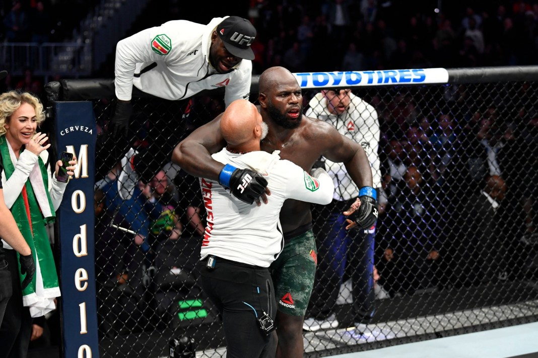 UFC on ESPN 7 Results - Jairzinho Rozenstruik finishes Alistair Overeem With 4 secs Remaining in the Final Round -