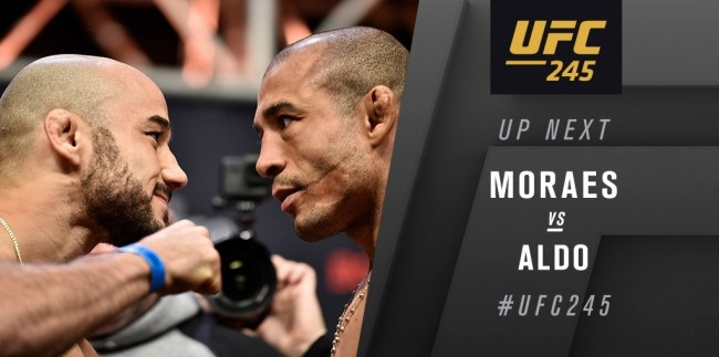 UFC 245 Results - Marlon Moraes Earns a Questionable Split-Decision Win Over Jose Aldo -