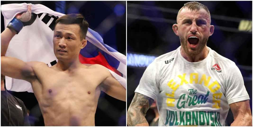 Korean Zombie reveals the advantage he has over Champ Alex Volkanovski - Zombie