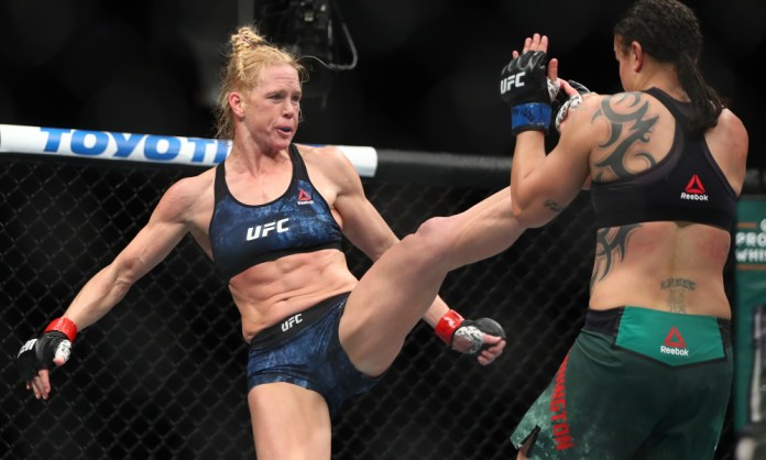 Holly Holm and Raquel Pennington