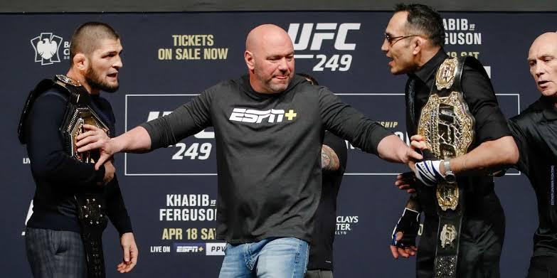 UFC News: UFC 249: Khabib vs. Ferguson will happen...just not in New York! - Khabib