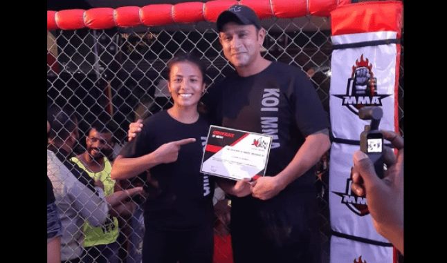 Exclusive: Surbala 'Warrior Princess' Laishram: I want to become UFC Champion one day! - Surbala