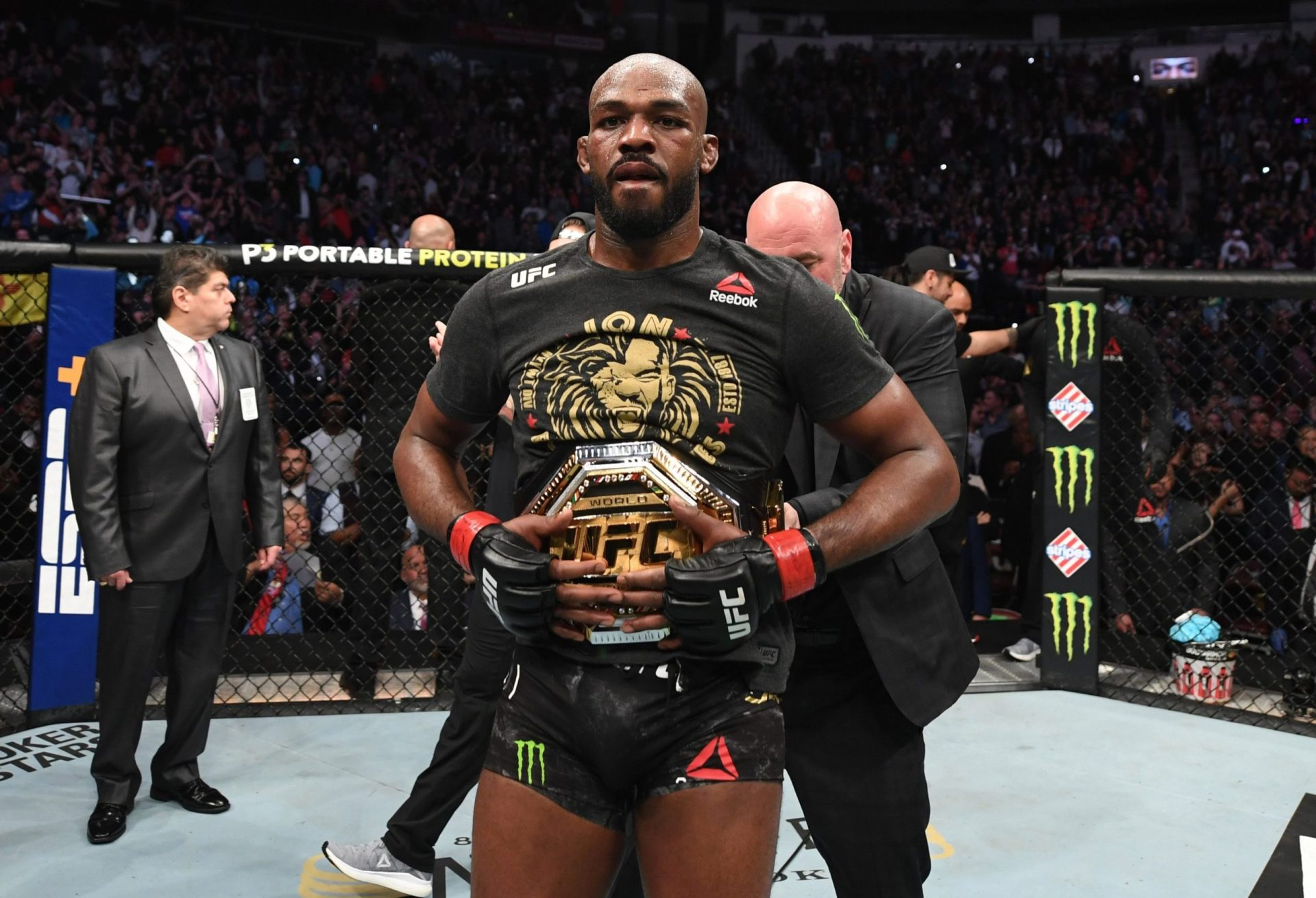 Jon Jones bids adieu to UFC gold: 'Veni vedi veci' - Jon Jones