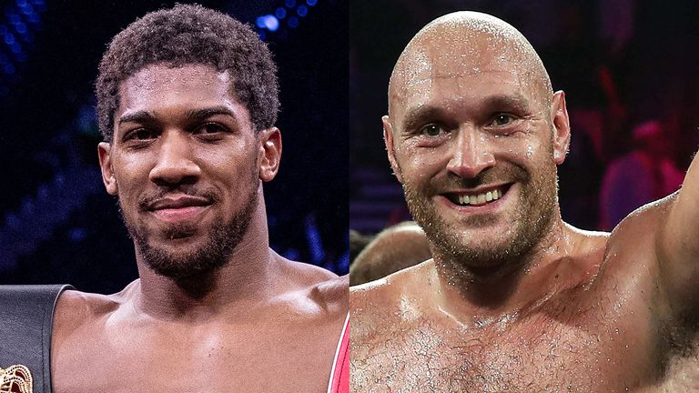 Anthony Joshua and Tyson Fury agree to a two-fight deal - Anthony Joshua